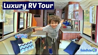 LUXURY RV TOUR!!