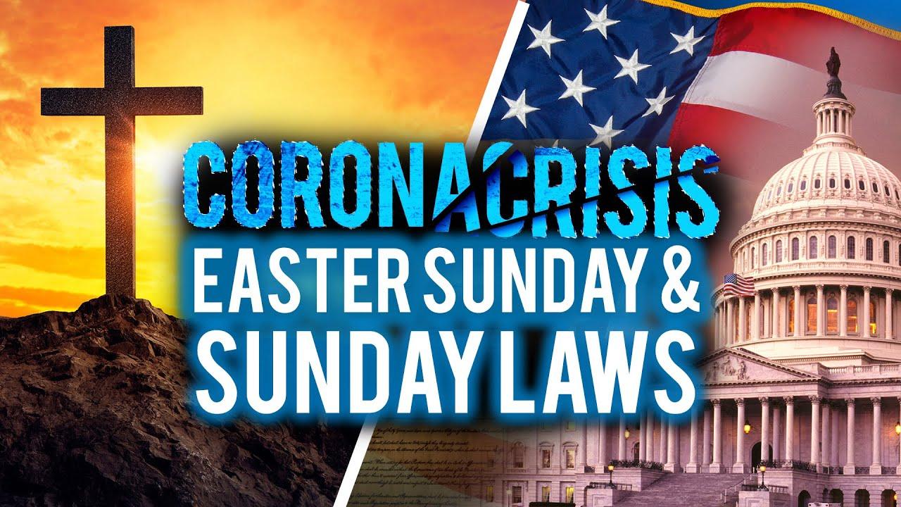 CoronaCrisis: Easter Sunday and Sunday Laws (LIVE STREAM)