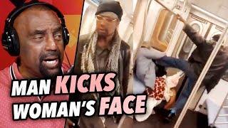 BETA Man KICKS Woman in the Face! (Marc Gomez) thumbnail