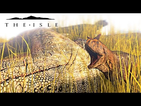 The Isle - REALISM SERVER BABY CARNO HATCHING & NESTING, IT'S BEEN FIXED & MORE! ( Gameplay )