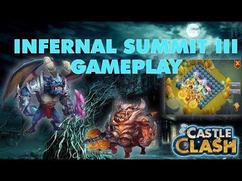 Infernal Summit III - Great Rewards   Castle Clash