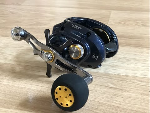 95b9fdca9e0 Daiwa Lexa HD400 and Okuma PCH Custom Rod!