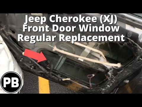 How to remove jeep cherokee door windows doovi for 2001 jeep grand cherokee rear window regulator