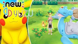 New Nintendo Switch Emulator! Setup Yuzu Emulator Update Pokemon Let