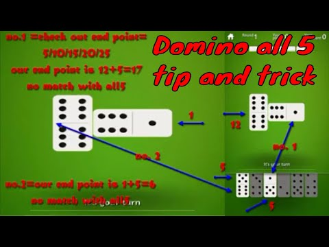 How To PLay Domino All Five