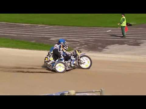 Speedway Haunstetten September 2017 Seitenwagen Qualifikation 3.  Lauf