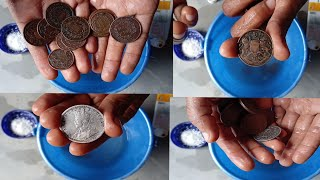 How to clean old Coins || मत साफ करना पुराने सिक्के नुकसान होगा !