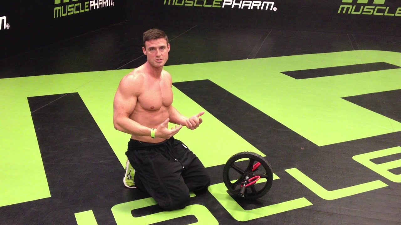 How to properly do the AB Wheel - YouTube