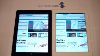 3rd iPad vs iPad 2 Arabic - مقارنة بين ايباد الجيل الثالث وايباد 2
