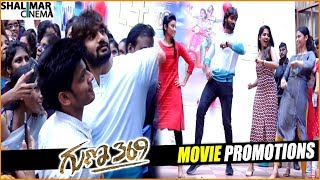 Guna 369 Movie Promotion In Vignan College At Vishakapatnam Kartikeya Shalimarcinema