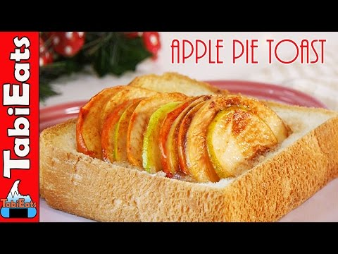 APPLE PIE TOAST (Easy Breakfast/Brunch/Dessert Recipe)