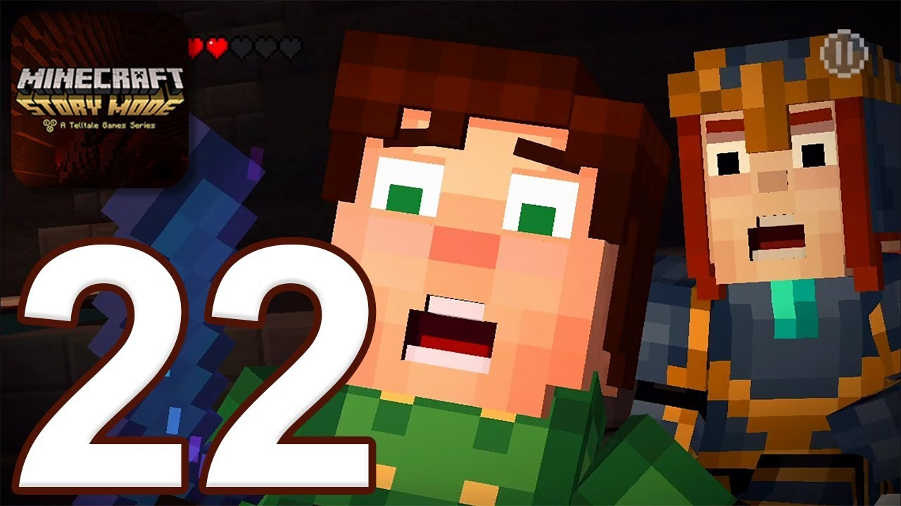 Download Minecraft: Story Mode - Gameplay Walkthrough Part 22 - Episode 8 (iOS, Android)