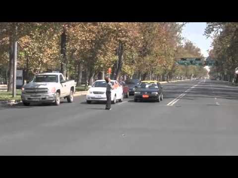 Street juggler in Santiago, Chile