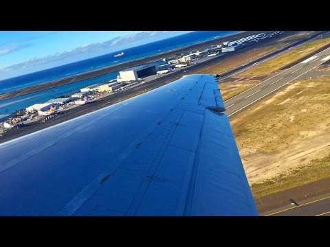 Hawaiian Airlines – Boeing 717-2BL – HNL-LIH – Takeoff and Landing – Inflight Series Ep. 70