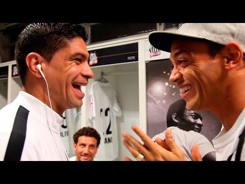 Santos 3 x 1 Sport | BASTIDORES | Copa do Brasil  (22/07/15)