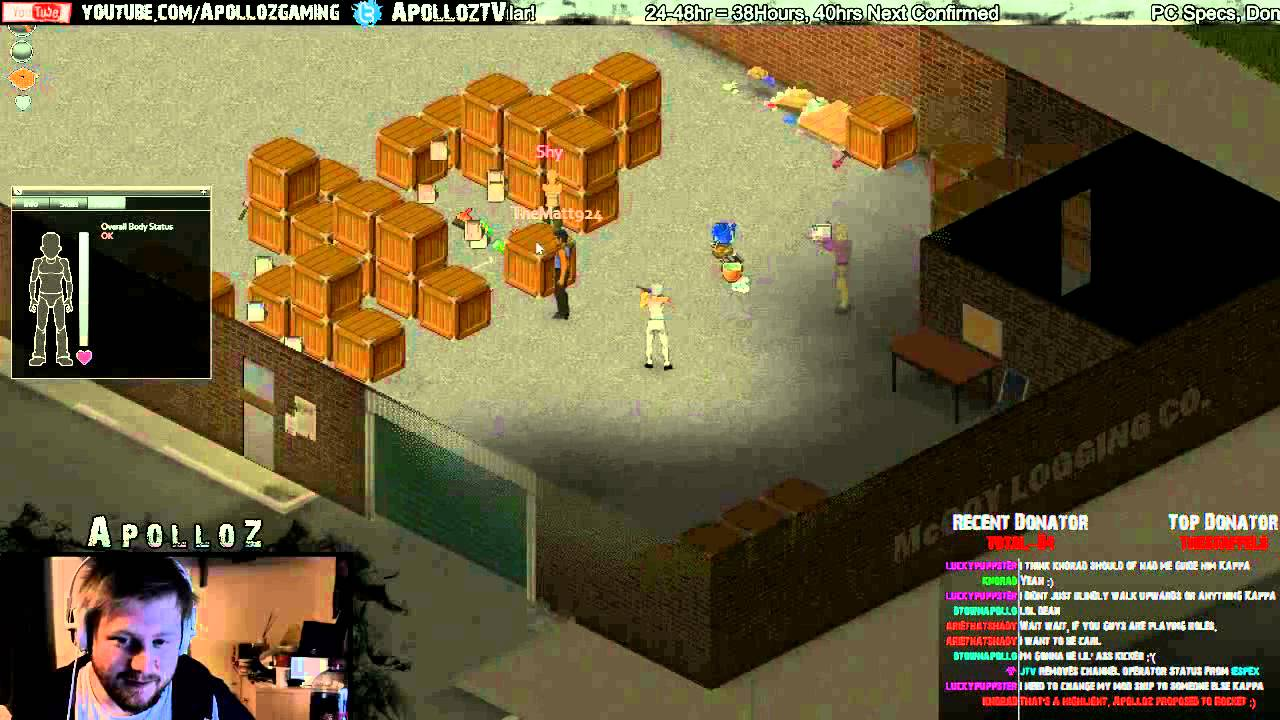 People are already messing about with Project Zomboid multiplayer ...