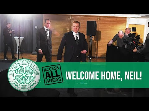 📹 ACCESS ALL AREAS: Neil Lennon's return to Celtic 🍀