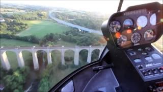 Полет на вертолете Robinson R66(Ознакомительный полет на вертолете Robinson R66 над Киевом, воздушная прогулка вдоль Днепра Агентство Полетов..., 2014-11-25T15:23:06.000Z)