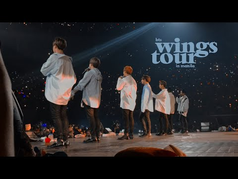 may 7, 2017 [170507] 💣 - bts live trilogy episode iii: the wings tour in manila 🎤 / vlog + fancams