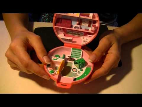 ♥ ♥ ♥ Soft Spoken Polly Pocket Bluebird Show'n'tell ASMR Relaxing Tapping Part 6 ♥ ♥ ♥