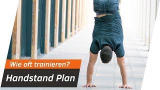 Handstand TRAININGSPLAN - Wie oft Handstand üben?   Andiletics