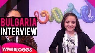 Lidia Ganeva (Bulgaria) @ Junior Eurovision 2016 first rehearsal - INTERVIEW