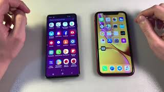 Samsung Galaxy S10 vs iPhone XR