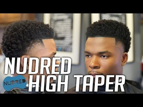 HOW TO: 'Duke Starting 5' NuDred High Taper Fade | Men's Haircut Tutorial | HD 1080p 60FPS