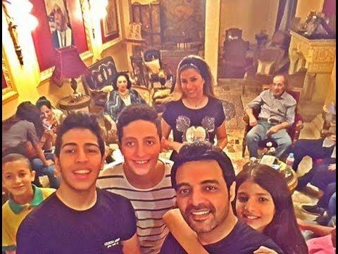 مصر العربية في أول ظهور لهم تعرف على أحفاد محمود ياسين Youtube
