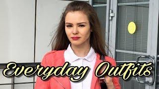 Everyday Outfits | ОБРАЗЫ на каждый день  | ТРЕНДЫ ЛЕТА в Москве 2017 | #OstinBlogger