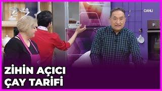 Zihin Açıcı Çay Tarifi | Dr.  Feridun Kunak Show | 9 Ocak  2019