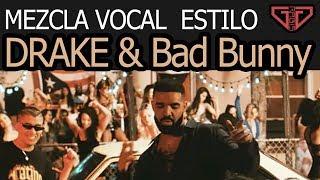 Como Cantar Como DRAKE y Bad Bunny Mía (Producción Musical)
