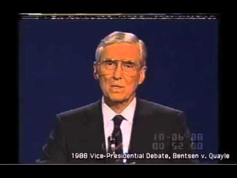1988: VP Candidates Debate Global Warming
