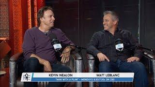 "matt leblanc amp kevin nealon of cbss ""man with a plan"" join the rich eisen show in studio 111417"