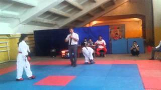 Кара-Балта: соревнования по каратэ