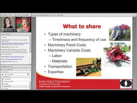 Women in Ag Machinery Sharing Webinar