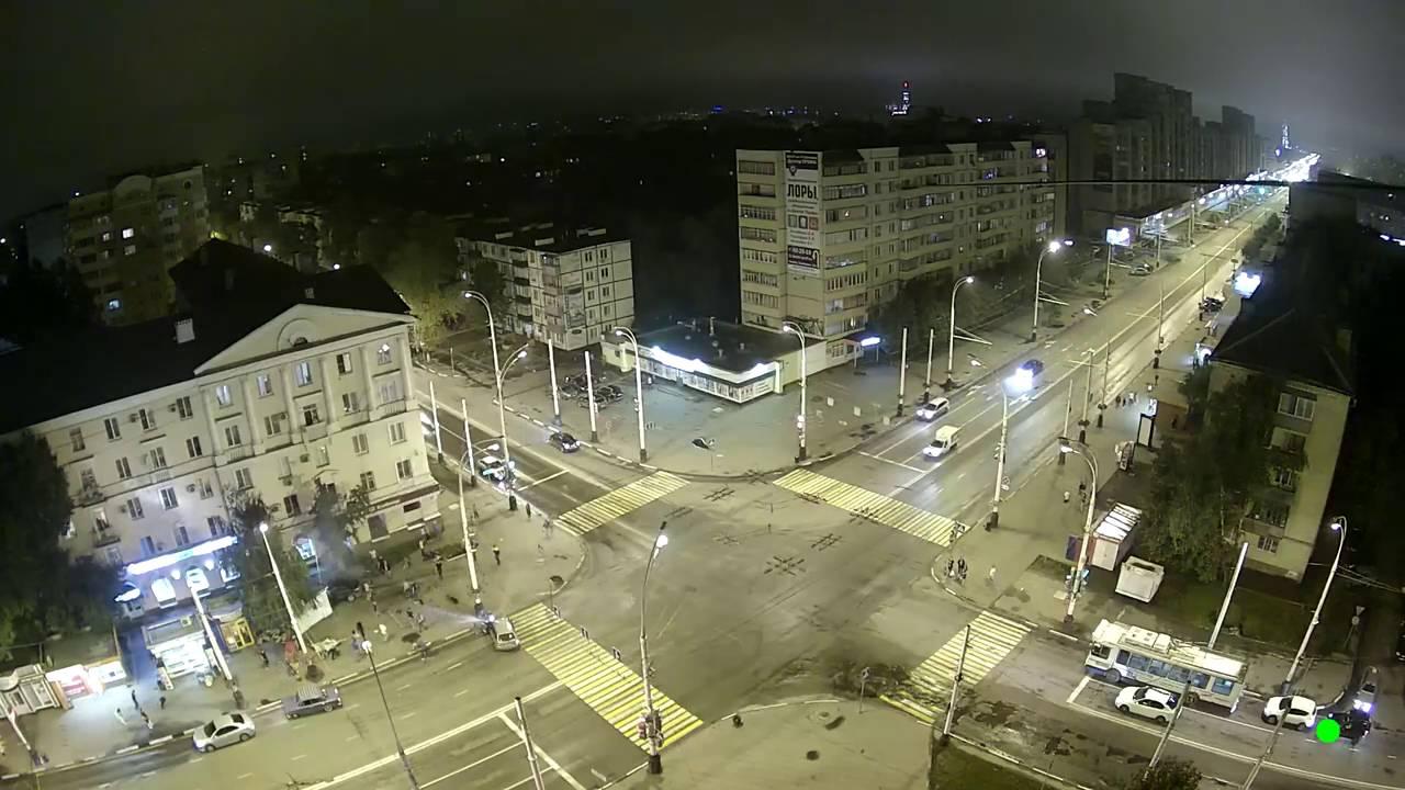 Авария в Тамбове