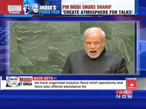 Narendra Modi Snubs Nawaz Sharif