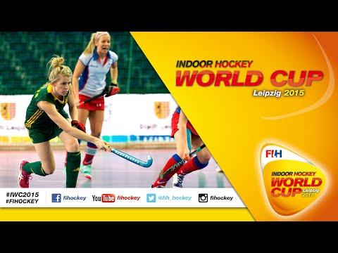 Australia vs Czech Republic - Full Match Women's Indoor Hockey World Cup 2015 Germany Quarter-Final