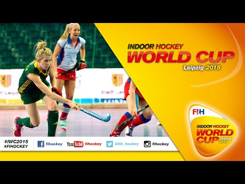 Australia vs Czech Republic - Full Match Women\'s Indoor Hockey World Cup 2015 Germany Quarter-Final