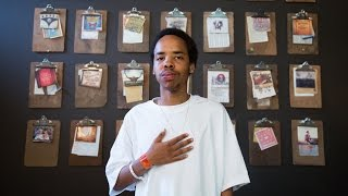 earl sweatshirt with microphone check i m grown
