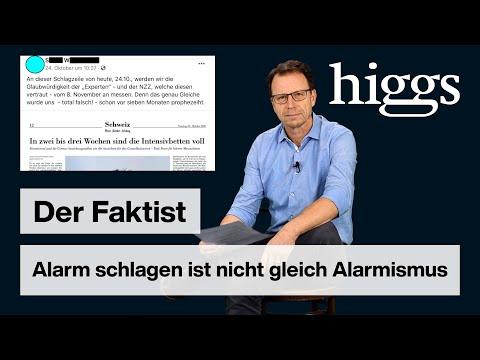 Alarm schlagen ist nicht gleich Alarmismus   Der Faktist   higgs.ch