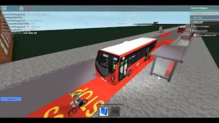 Roblox London Hackney & Limehouse bus Simulator Wright Streetlite (euro 6) TT Route 339 to Stepney