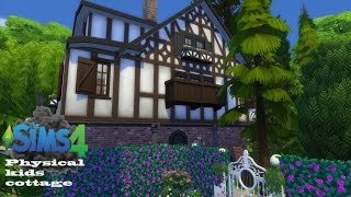The Sims 4 -Speed Build Physical Kids Cottage