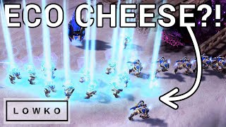 StarCraft 2: Has's NEW ECO CHEESE Strategy! (Best-of-5)