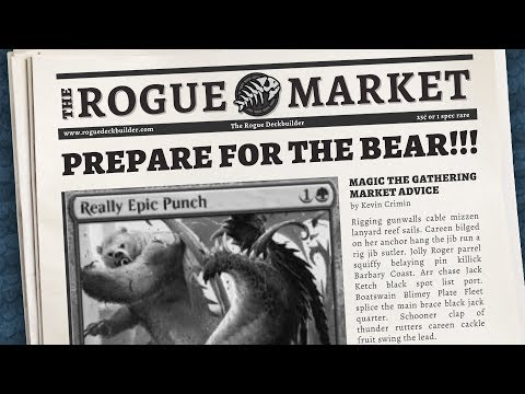 Market Monday: Prepare for the BEAR!   Magic The Gathering Market Analysis