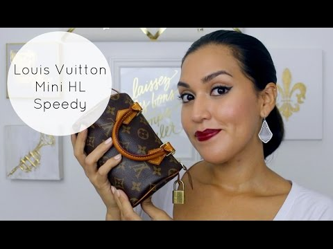 Louis Vuitton Mini HL Speedy (Review / WIMB / What Fits) in HD!