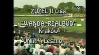Wanda-Realbud Kraków - Unia Leszno, 19.05.1996 (TV Wisła)