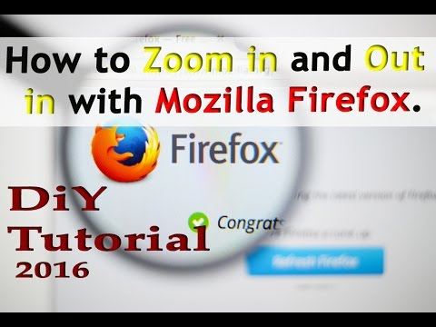 how to set firefox default zoom