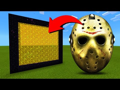 How To Make A Portal To The Jason Voorhees Dimension In MInecraft!